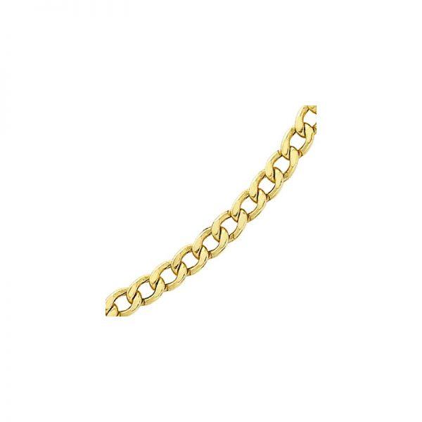 Cadena de oro amarillo de 18k